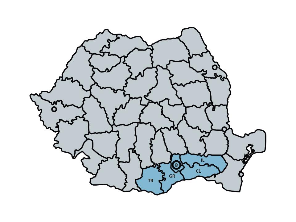 Birou executor judecatoresc Bucuresti Copuzeanu - Harta com